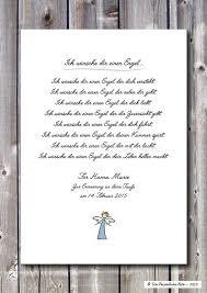Poetischer Segenswunsch Ich Wünsche Dir Einen Engel Ein