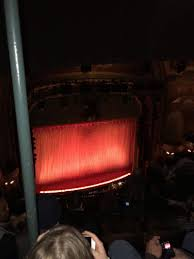 Aladdin Theater Nyc Seating Chart New Amsterdam Theatre Section Balcony L Row G Seat 11