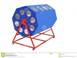 A Raffle Drum Stock Photo Image Of Excitement Loss 13370850