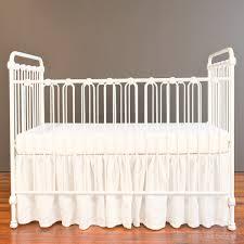 wrought iron baby cribs crib distressed white 9