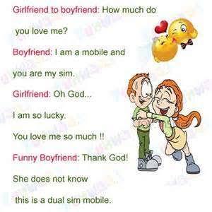 funny shayari on girlfriend and boyfriend