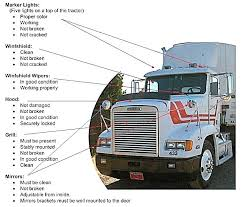 california cdl pre trip inspection diagram michaelhannan co texas cdl pre trip inspection form diagram luxury semi truck marker light wiring