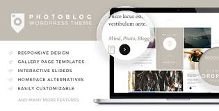 Photography Website Templates Awesome Photoblog Photography Portfolio And Blog Theme By Tokokoo