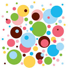 amazoncom wallcandy arts wall decal dottilicious polka dot wall