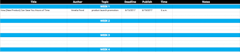 Create A Calendar Template How To Create A Social Media Content Calendar Tips And