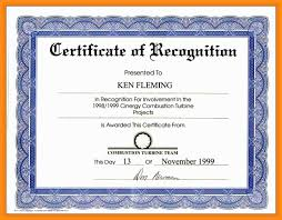 Award Certificate Wording For Award Certificates Complete Guide Example 11