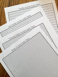 crochet graph paper tapestry crochet intarsia graph paper formatted for sc