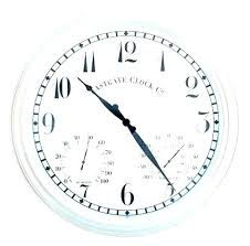large outdoor clocks for the garden clock thermometer and sets australia gard