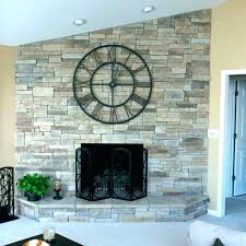 fireplace veneer dry stack fireplace small of charm stacked stone veneer fireplace interior design masters group