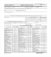 Sample Of Medical Records Patient Medical Record Template Magdalene Project Org
