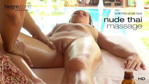 Nude thai massage video