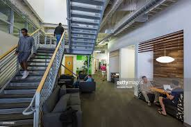 google hq office mountain view california. Google Employees At Work Inside An Office Building The Googleplex Corporate Headquarters Complex Of Hq Mountain View California N