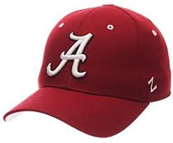 Zhats Size Chart Zhats Ncaa Alabama Crimson Tide Mens Dh Fitted Cap