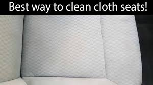 best cloth seat cleaning technique youtube