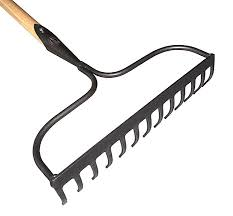 garden rakes. above: sneeboer\u0027s 10-tine garden rake is hand-forged of stainless steel with sharp but tough tines and fitted an ash hardwood handle. rakes