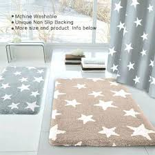 oversized bath mat stars rug bathroom rugs 24 x60 memory foam