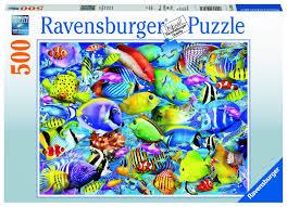"""<b>Пазл Ravensburger</b> """"Тропические рыбы"""" <b>500</b> шт. арт.14796 ..."""