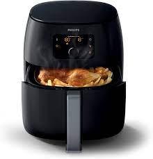 Amazon.de: Philips Airfryer XXL, Heißluftfritteuse (ohne Öl, für 4-5  Personen, 3, 5 L, digitales Display) schwarz HD9652/90
