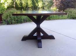 wood round pedestal dining table round