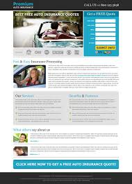 best free auto insurance quotes effective lead capture landing page design templates to capture leads for
