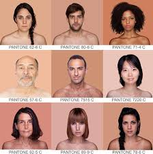 Pantone Skin Tone Chart What Colour Code Are You How Brazilian Artist Is Using The