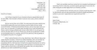 Recommendation Letter For A Friend Simple Letter Of Good Character Davidbodnerco