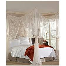 Amazon Majesty King Queen Bed Canopy Home & Kitchen