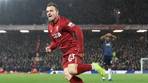 Why do man utd fans have tgif on their. Liverpool S Xherdan Shaqiri Reflects On Man Utd Win And Jokes Received After Jose Mourinho Sack Football News Sky Sports