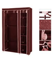 best home fancy and portable fold able clothes closet wardrobe cabinet multipurpose clothes closet