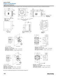 allen bradley 700 relay wiring diagram wiring diagrams a b 700 hr52ta17 ac volt multifunction timing relay