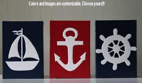 anchor bathroom decor. decor nautical painting bathroom by joanitabonita anchor s