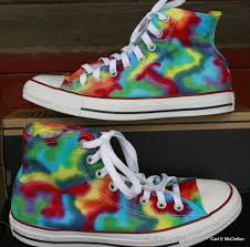 converse rainbow. superb hand dyed rainbow converse sneakers