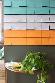 creative office christmas party ideas. Coco+kelley For Post It Housewarming Party Notes Wall_5 Creative Office Christmas Ideas