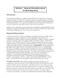 Sample Of Incident Report Letter Template Chanceinc Co