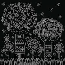 大人のためのヒーリングスクラッチアート 癒しの森の動物たち