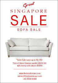 furniture sale ads. Plain Furniture Scandinavian Furniture Sale  Poster On Behance For Furniture Ads