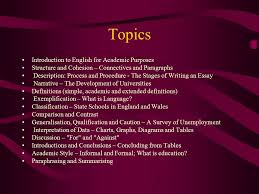 english for academic purposes ppt video online  4 topics introduction