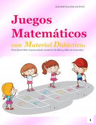 En este post te voy a mostrar una serie de juegos de matemáticas para secundaria que creo que te gustarán. Calameo Juegos Matematicos Con Material Didactico Para Desarrollar El Pensamiento Numerico De Ninos Y Ninas De Grado Preescolar