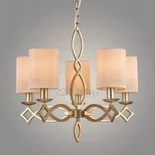 texture light fabric shade cylinder shaped clearance chandeliers