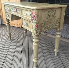 all finished and off to its new home as a writing desk painted in annie sloan