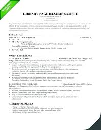 Sample Resume For Kids