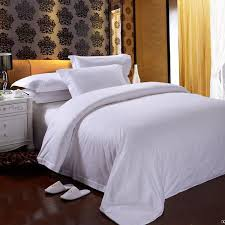 china star hotel white cotton bedding set duvet cover china bedding set hotel bedding set