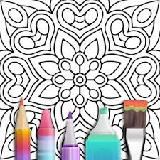 Small Picture Mandala Coloring Book Android Apps on Google Play