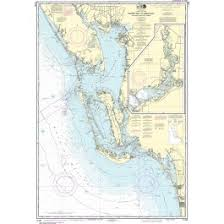 Noaa Nautical Chart 11426 Estero Bay To Lemon Bay Including Charlotte Harbor Continuation Of Peace River