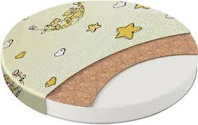 <b>Матрас в кроватку Sweet</b> Baby Cocos Comfort, круглый, 10 см ...