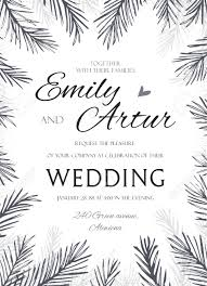 Winter Wedding Save The Date Winter Wedding Invite Invitation Save The Date Elegant Hand
