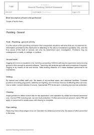 Method Of Statement Fascinating Plans Policies Procedure Method Statements