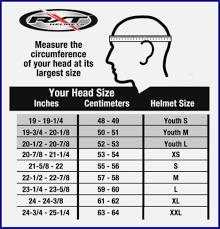 Bike Helmet Size Chart Dirt Bike Helmets Youth Xxl Bicycles Reviews