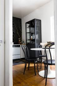 Tricorn Black Sherwin Williams A Sleek Black White Home Decor Shopping List Apartment Therapy