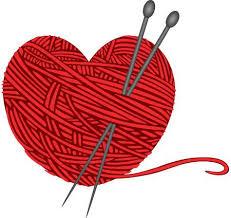 Résultats de recherche d'images pour «red yarn heart free image»